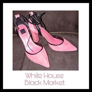 Pink and black heels - WHBM